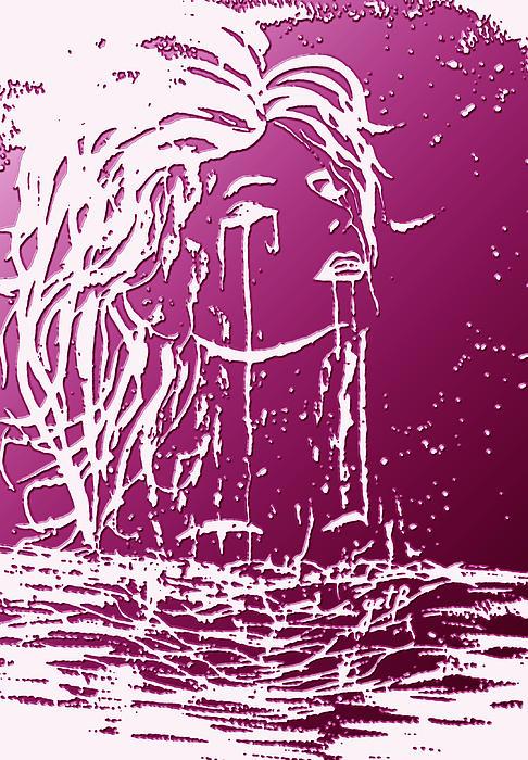 Sea Spirit  Print by Costinel Floricel