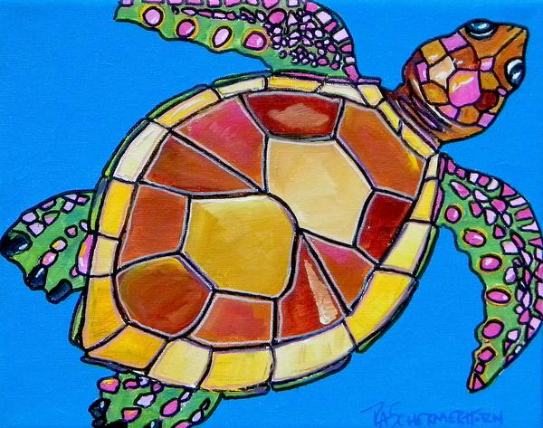Sea Turtle Print by Patti Schermerhorn