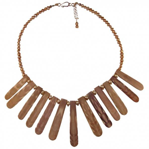 Sea Urchin Collar Necklace  Jewelry