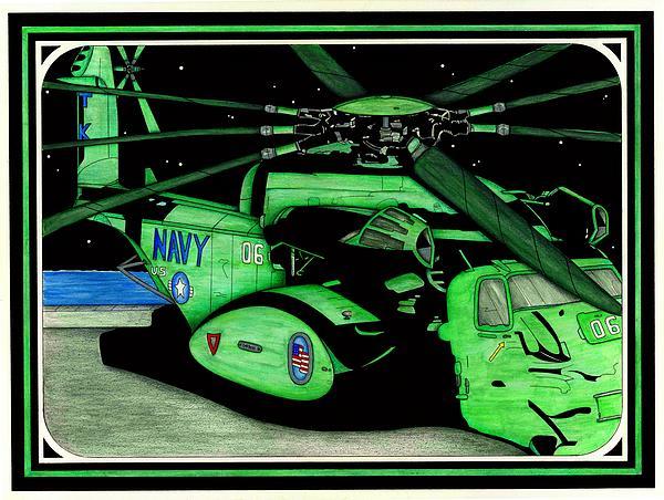 Seal Team 6 Print by Norman Sandow