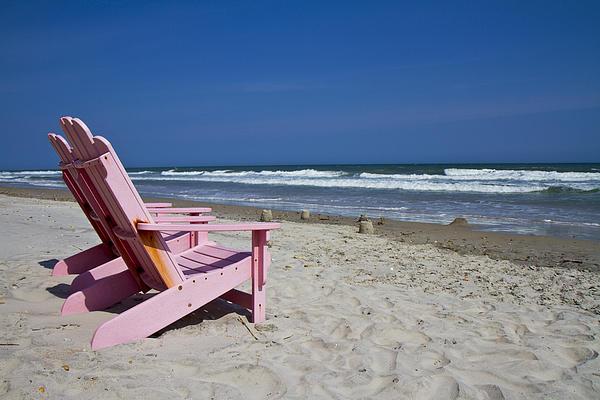 Seas The Chair Print by Betsy C  Knapp