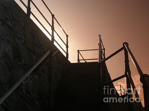 Terri  Waters - Seaside Railings