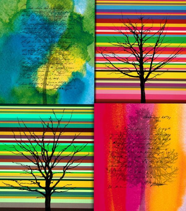 Seasons Print by Ramneek Narang