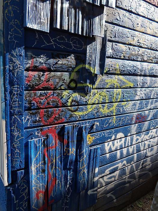 Seattle Graffiti Print by Randall Weidner