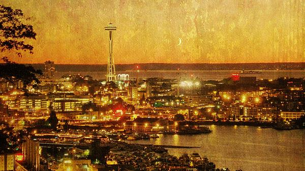 Ginger Denning - Seattle Sunset Crescent