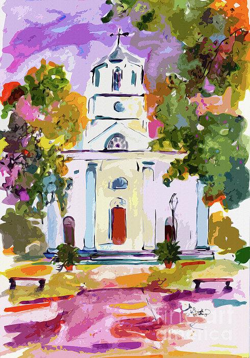 Ginette Fine Art LLC Ginette Callaway - Second Presbyterian Church Charleston South Carolina