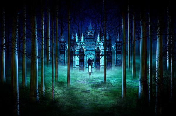Secret Castle Print by Svetlana Sewell