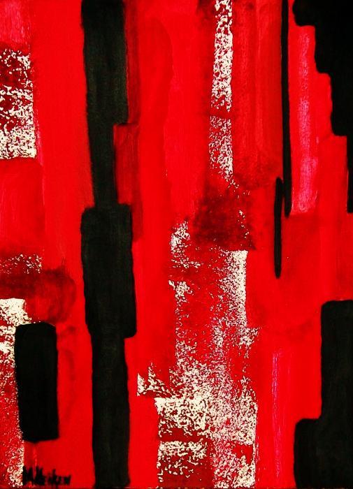 Seeing Red Print by Marsha Heiken