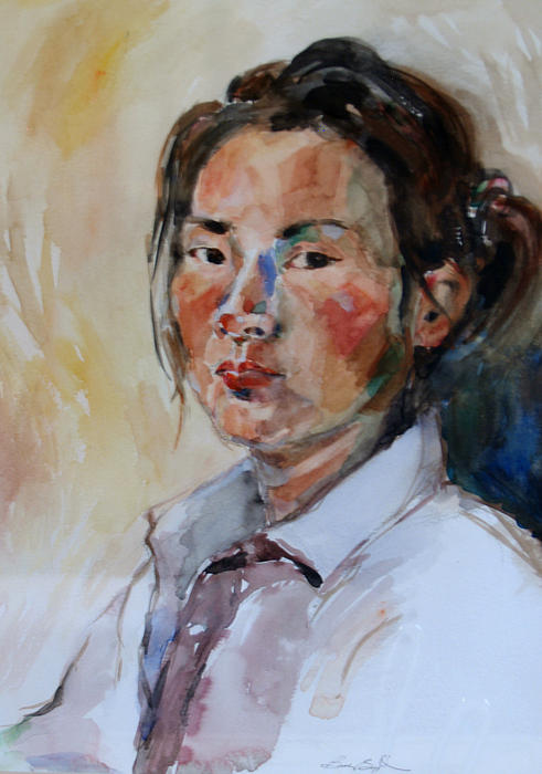 Becky Kim - Self Portrait 1 - 2009
