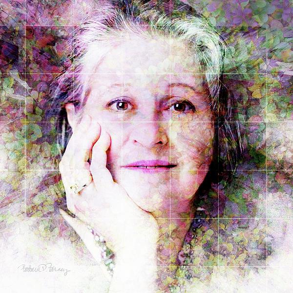 Self Portrait Print by Barbara Berney