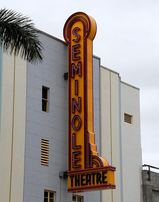 David Lee Thompson - Seminole Theatre 1940