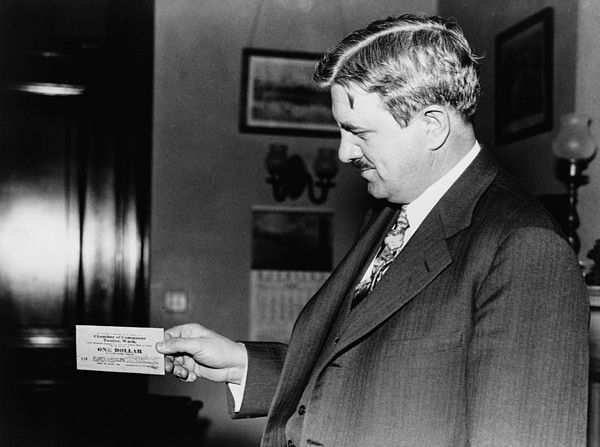 Senator Clarence C. Dill Of Washington Print by Everett