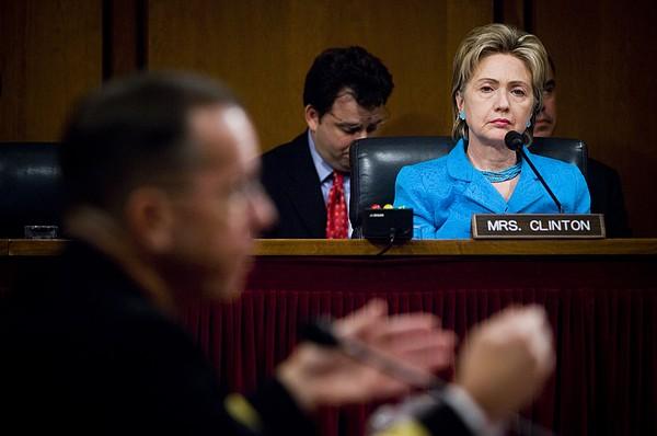 Senator Hillary Clinton A Member Print by Everett