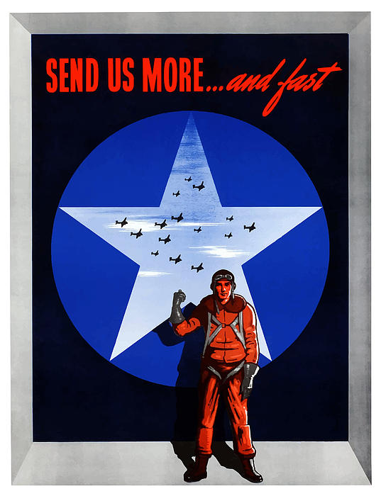 Send Us More And Fast  Print by War Is Hell Store