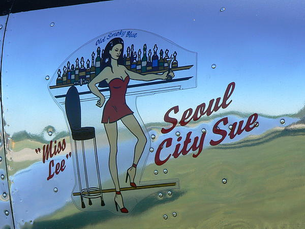 Seoul City Sue Print by Ron Hayes