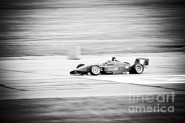 Sepia Racing Print by Darcy Michaelchuk