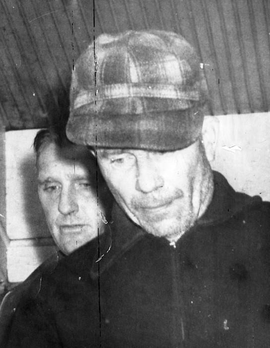 Serial Killer Ed Gein, Plainfeld Print by Everett
