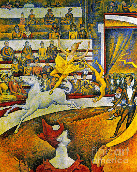 Seurat: Circus, 1891 Print by Granger