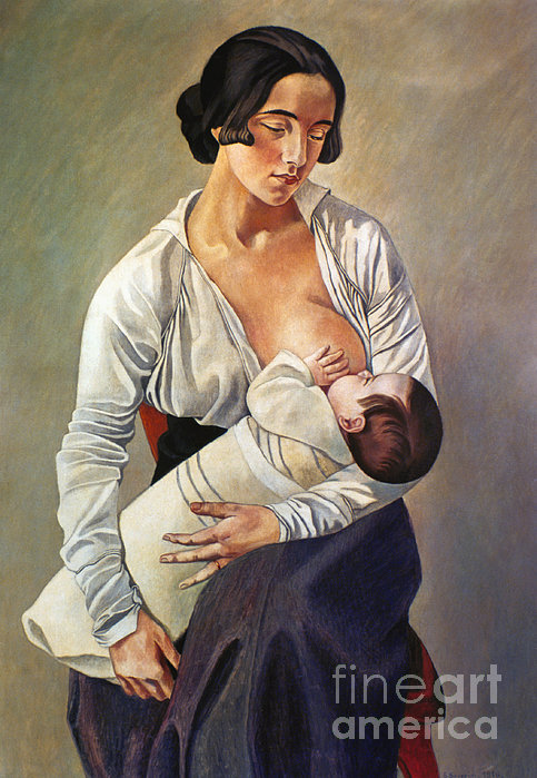 Severini: Maternity, 1916 Print by Granger