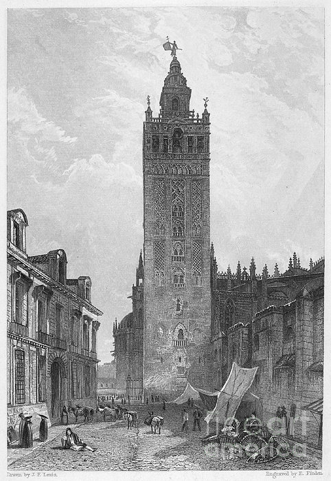 Seville: The Giralda Print by Granger