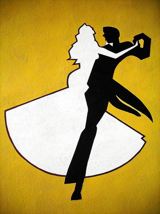 Shall We Dance ... Print by Juergen Weiss
