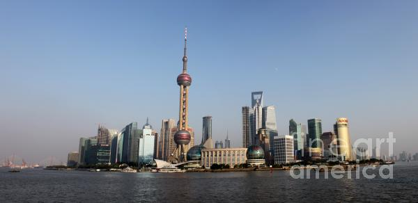 Shanghai Skyline Photograph