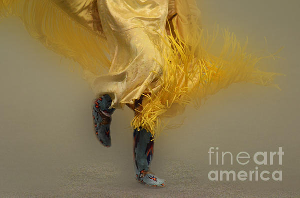 Shawl Dancer 9 Print by Bob Christopher