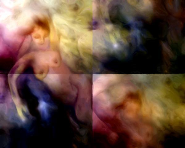 She Sleeps She Dreams Print by Shelley Bain