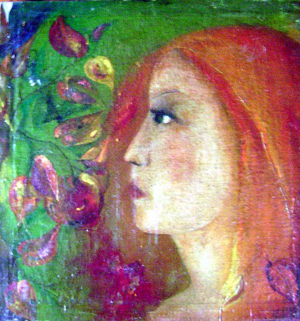 She Was Print by Wojtek Kowalski