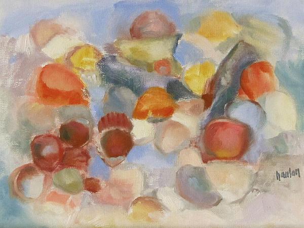 Shell Impresion II Print by Susan Hanlon