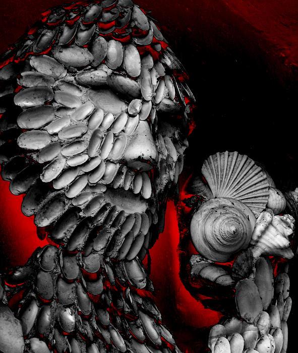 Shell Man Print by Lori Seaman