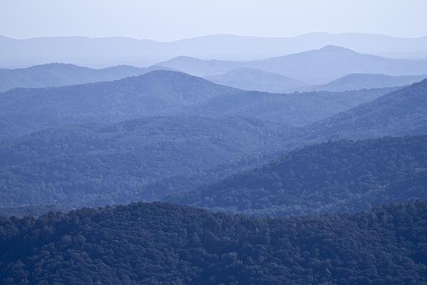Shenandoah Mountains Print by Pierre Leclerc Photography