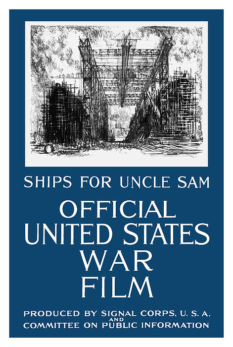 Ships For Uncle Sam Print by War Is Hell Store