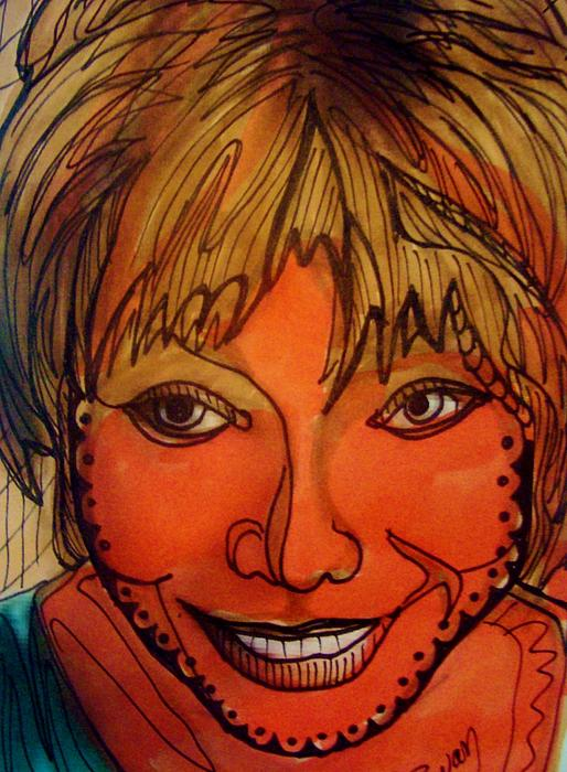 Shirley Mclaine Print by Gerri Rowan