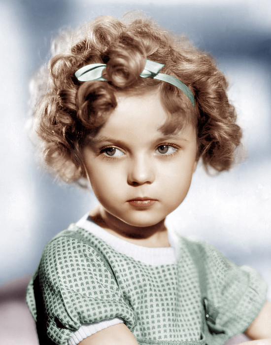 Shirley Temple, Ca. 1934 Print by Everett