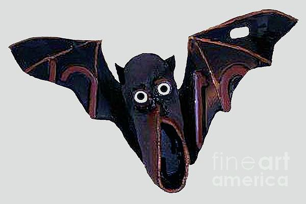 Shoe Bat Print by Bill  Thomson