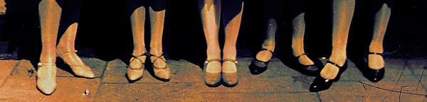 Shoe Parade Print by Li   van Saathoff