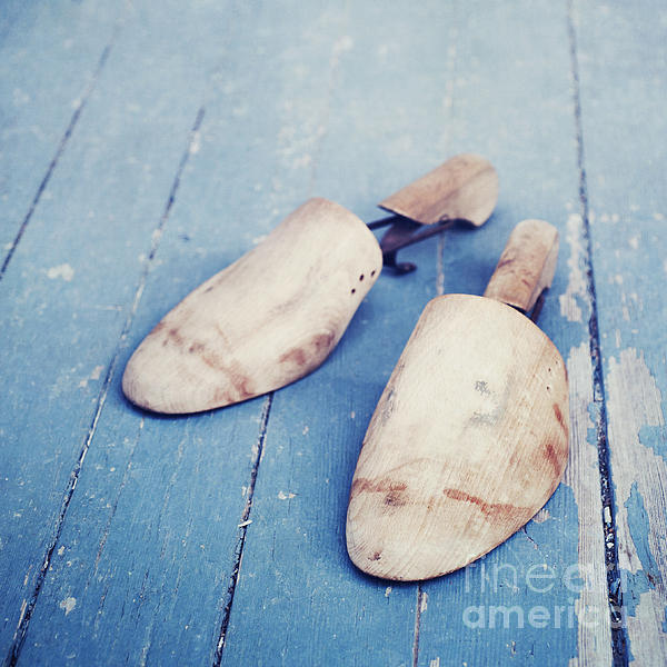 shoe trees II Print by Priska Wettstein