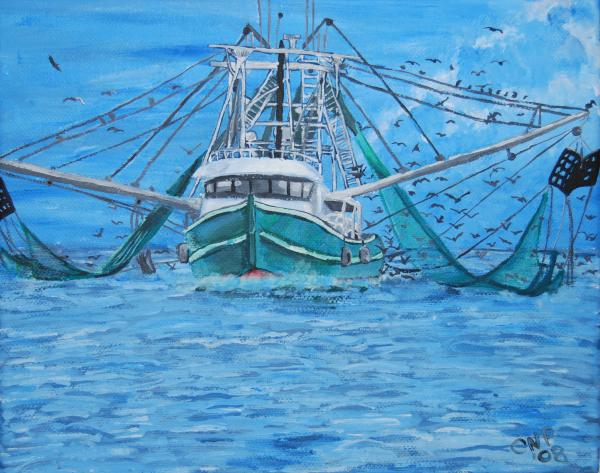 Shrimp boat sale louisiana autos post for Mississippi fishing license cost