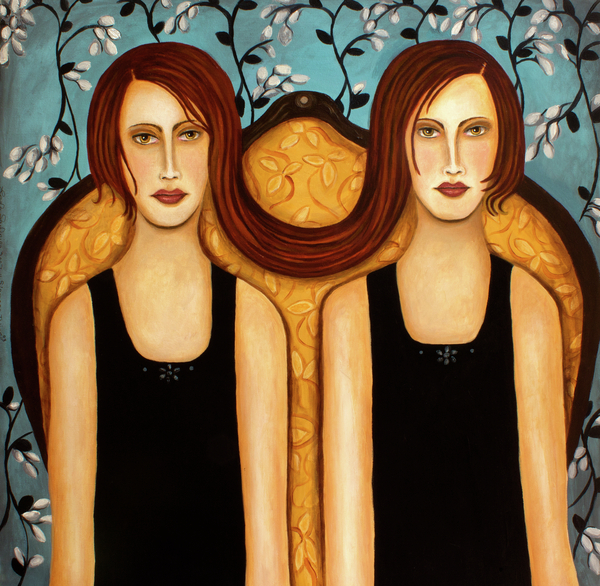Siamese Twins Print by Leah Saulnier The Painting Maniac