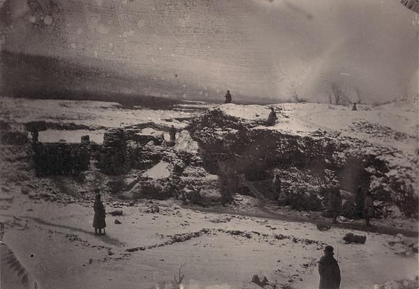 Siberia, Prison Guards Surrounding Print by Everett