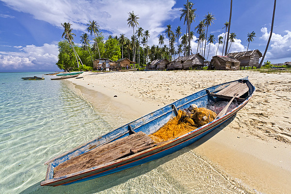 Sibuan Island Print by Photography By Spintheday
