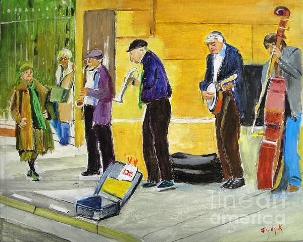 Judy Kay - Sidewalk Serenade
