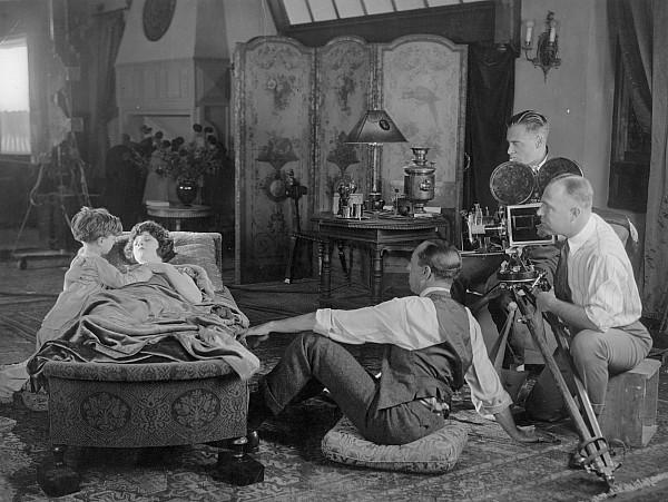 Silent Film Set, 1920s Print by Granger