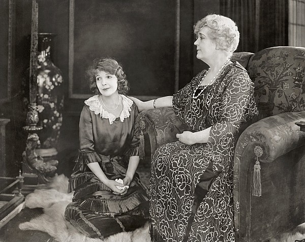 Silent Film Still: Women Print by Granger
