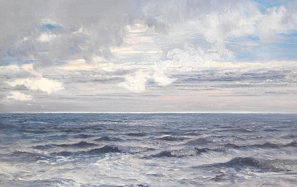 Silver Sea Print by Henry Moore