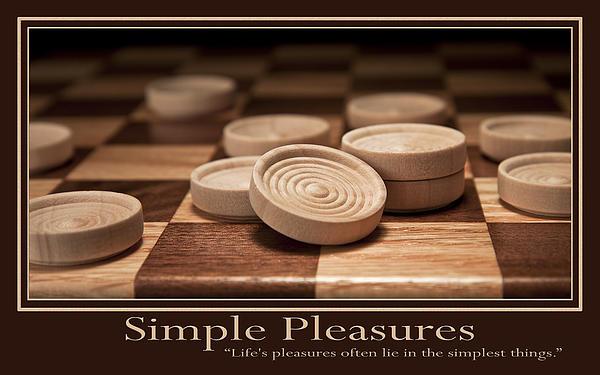 Simple Pleasures Poster Print by Tom Mc Nemar