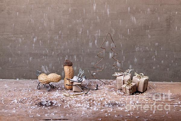 Simple Things - Christmas 07 Print by Nailia Schwarz