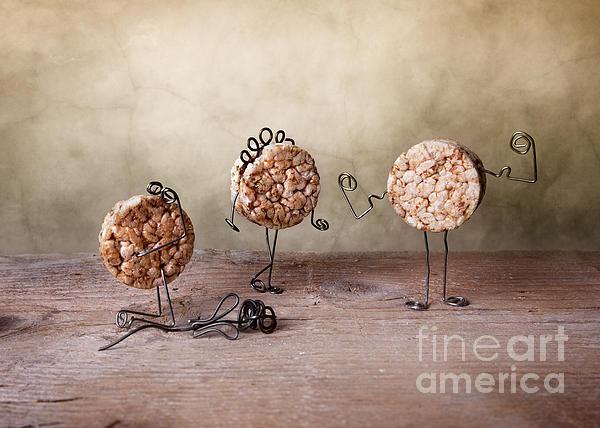 Simple Things 07 Print by Nailia Schwarz