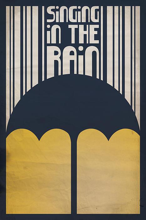 Singin' In The Rain Print by Megan Romo